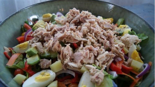 Tuna Nicoise-ish Salad, Eat By Design, Powerhouse, Chiropractic, Chiropractor, Olympic Village, Vancouver