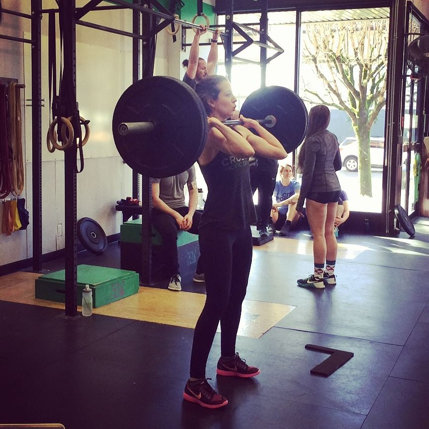 Women, lifting, weights, strong, sexy, Powerhouse, Chiropractic, Chiropractor, Vancouver, Olympic Village