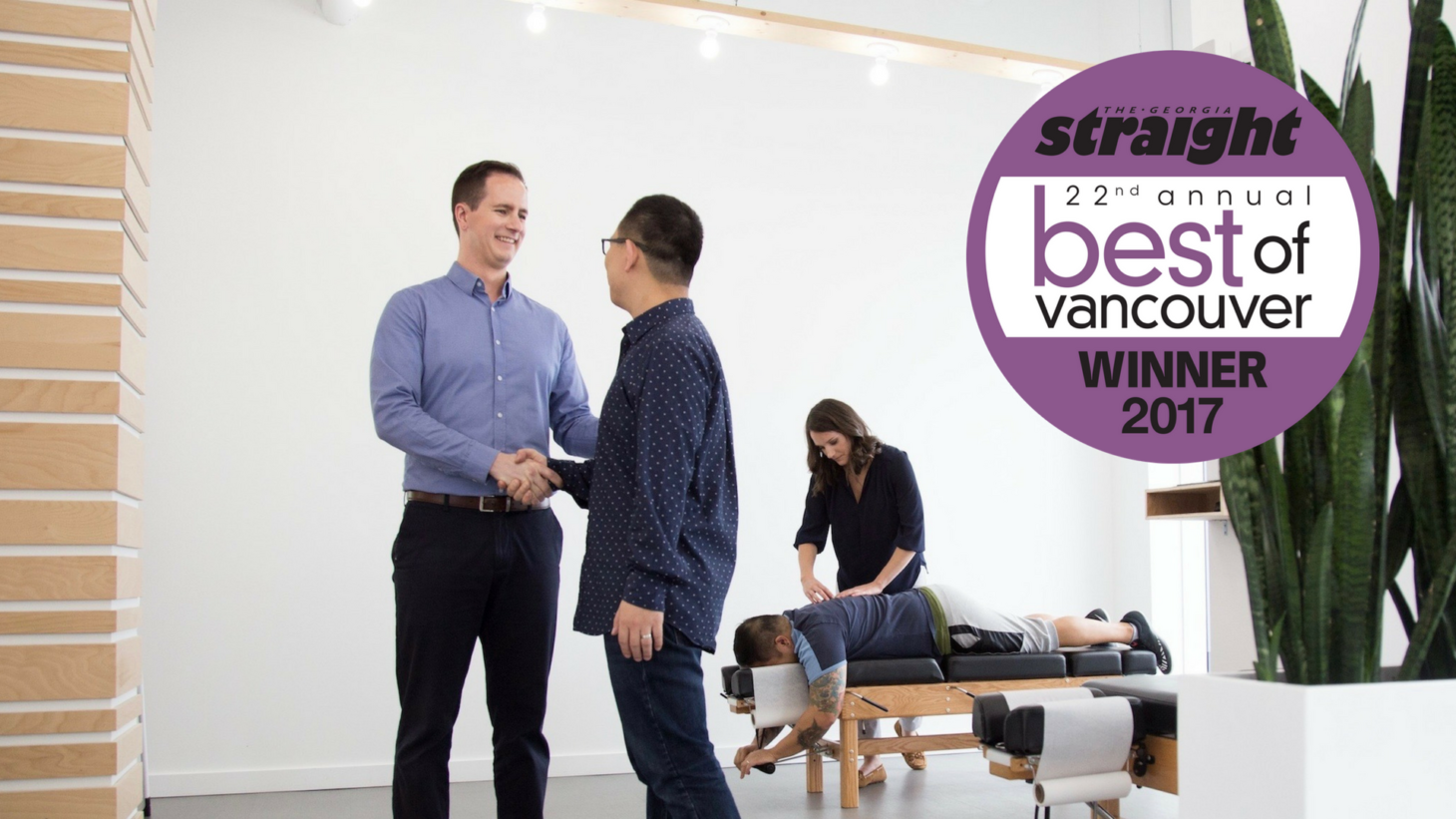 Best of Vancouver, Powerhouse Chiropractic, Vancouver Chiropractor, Olympic Village, Main St, False Creek